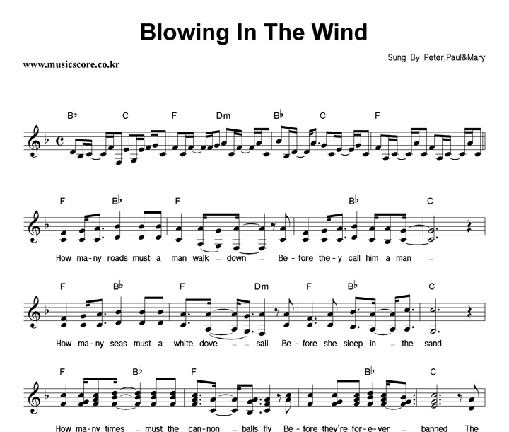 peter paul and mary blowin in the wind essay Bob dylan dylan, bob (vol 12) - essay  new york times and the release of blowin' in the wind performed by peter, paul, and mary  blowin' in the wind.