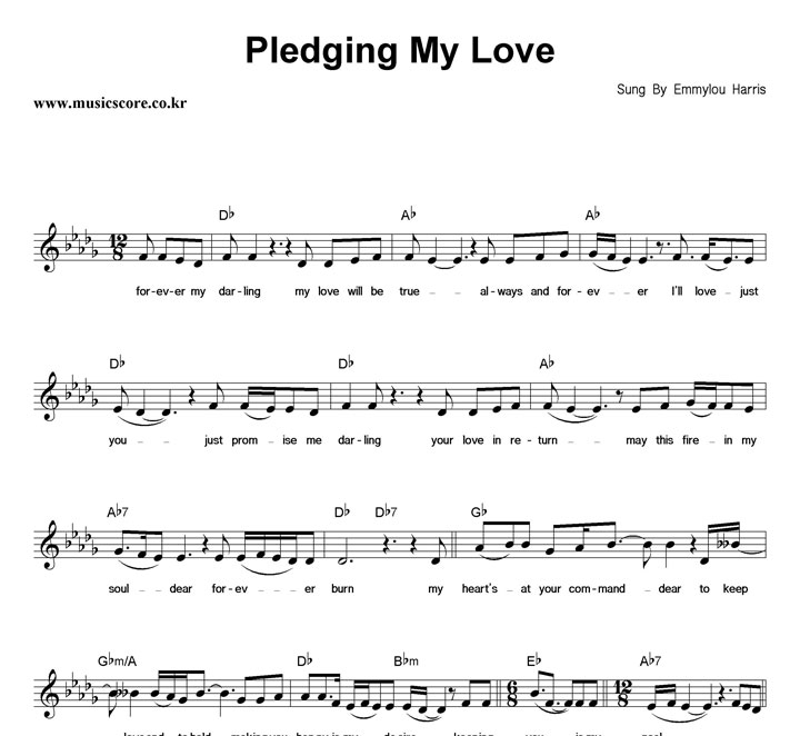 Images - Pledging my love
