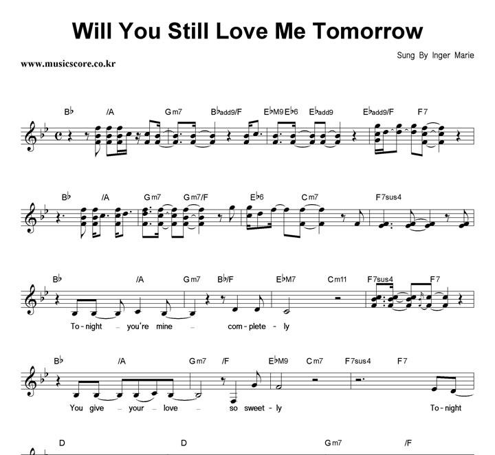 Will You Still Love Me Tomorrow Chord - gaurani.almightywind.info