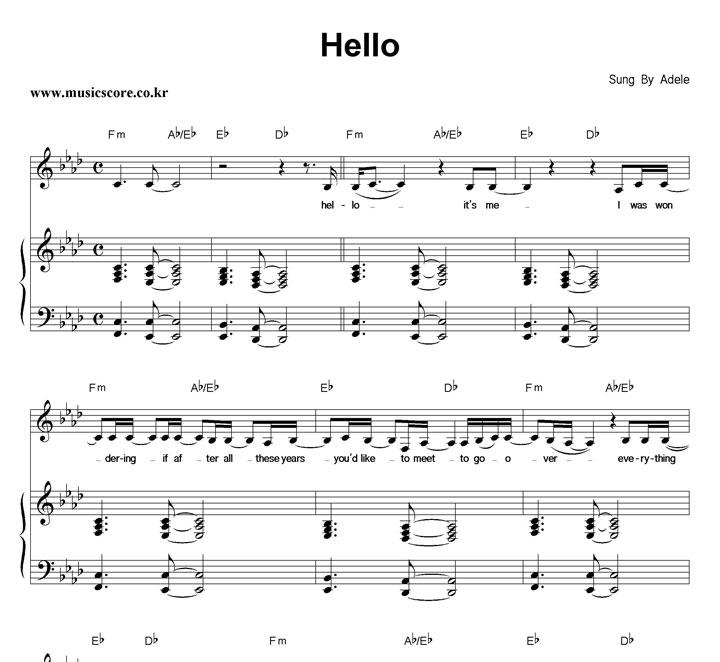 Adele Hello Guitar Chords Guitar Chords Explorer 1122719 Ejobnetfo