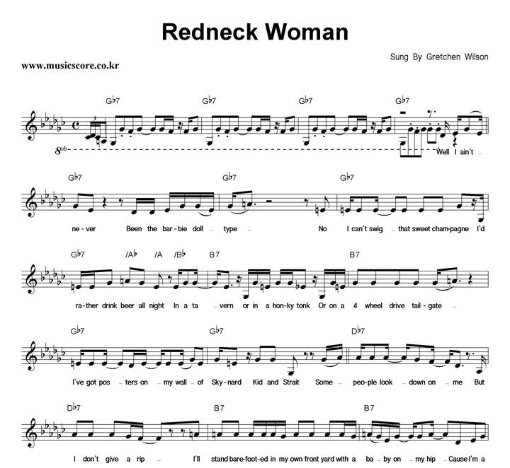 Gretchen Wilson Redneck Woman