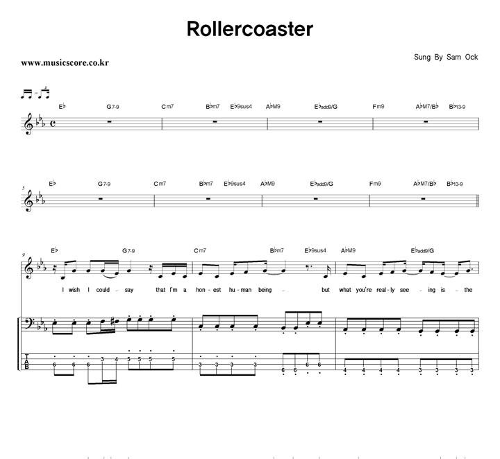 rollercoaster sam ock