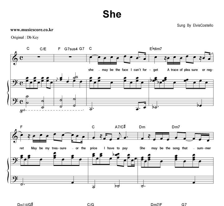 she used to be mine waitress sheet music pdf