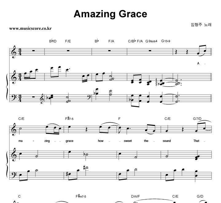 Amazing Grace Key Of C Pictures to Pin on Pinterest - PinsDaddy